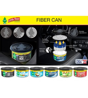 Fiber Can Caribbean Colada - Aromas Orgánicos