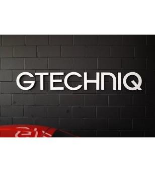 Rótulo Gtechniq para estudio